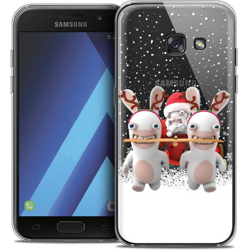 Crystal Samsung Galaxy A3 2017 (A320) Case Lapins Crétins™ Lapin Traineau