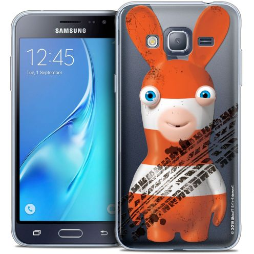 Crystal Samsung Galaxy J3 2016 (J320) Case Lapins Crétins™ On the Road