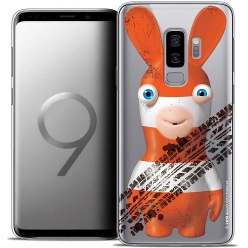 "Crystal Gel Samsung Galaxy S9+ (6.2"") Case Lapins Crétins™ On the Road"
