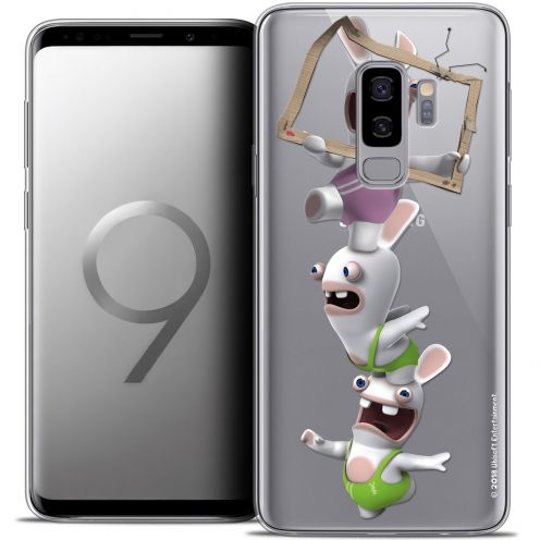 "Crystal Gel Samsung Galaxy S9+ (6.2"") Case Lapins Crétins™ TV Sport"