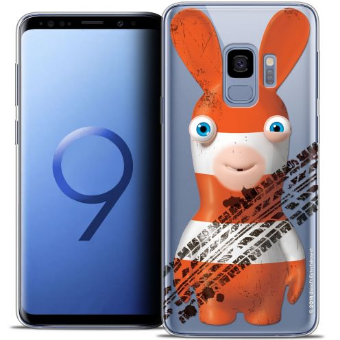 """Crystal Gel Samsung Galaxy S9 (5.8"""") Case Lapins Crétins™ On the Road"""