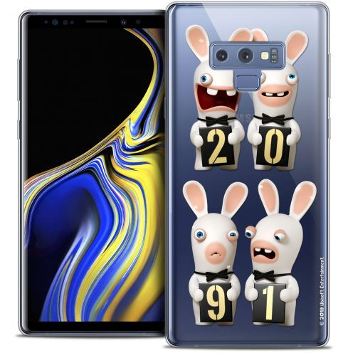 "Crystal Gel Samsung Galaxy Note 9 (6.4"") Case Lapins Crétins™ New Year"