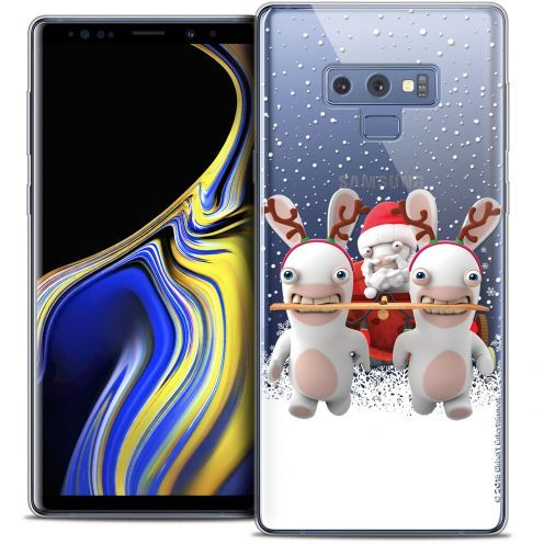 "Crystal Gel Samsung Galaxy Note 9 (6.4"") Case Lapins Crétins™ Lapin Traineau"