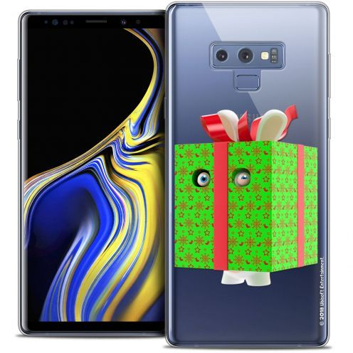 "Crystal Gel Samsung Galaxy Note 9 (6.4"") Case Lapins Crétins™ Lapin Surprise Vert"