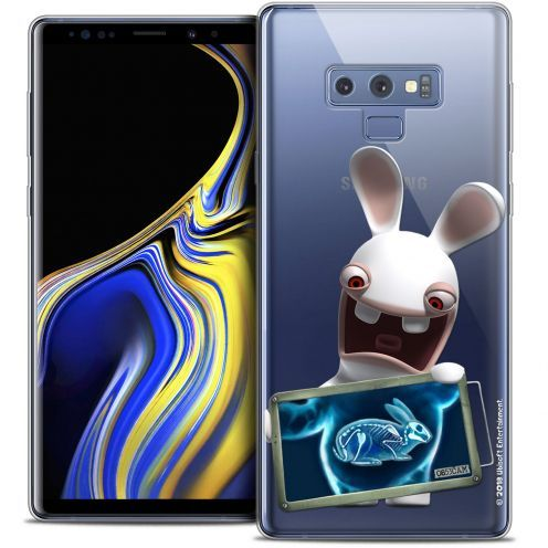 "Crystal Gel Samsung Galaxy Note 9 (6.4"") Case Lapins Crétins™ X Ray Crétin"