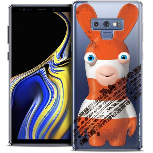 "Crystal Gel Samsung Galaxy Note 9 (6.4"") Case Lapins Crétins™ On the Road"