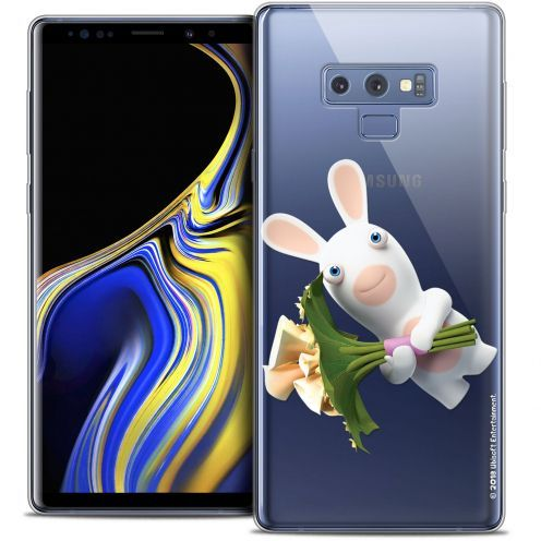 "Crystal Gel Samsung Galaxy Note 9 (6.4"") Case Lapins Crétins™ Bouquet Crétin"