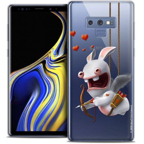 "Crystal Gel Samsung Galaxy Note 9 (6.4"") Case Lapins Crétins™ Flying Cupidon"
