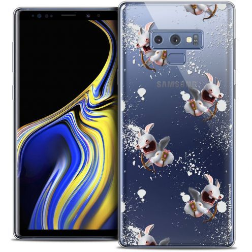 "Crystal Gel Samsung Galaxy Note 9 (6.4"") Case Lapins Crétins™ Cupidon Pattern"