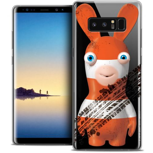"""Crystal Gel Samsung Galaxy Note 8 (6.3"""") Case Lapins Crétins™ On the Road"""