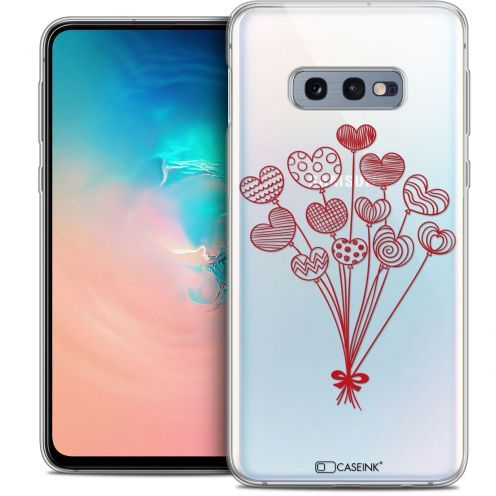 """Extra Slim Crystal Gel Samsung Galaxy S10e (5.8"""") Case Love Ballons d'amour"""