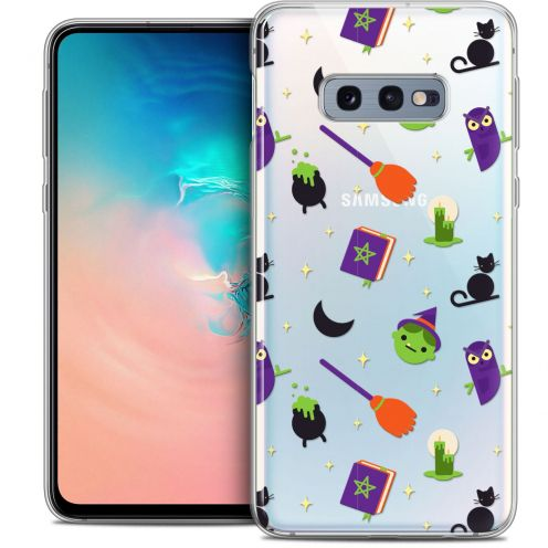 """Extra Slim Crystal Gel Samsung Galaxy S10e (5.8"""") Case Halloween Witch Potter"""