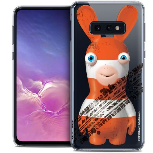 """Crystal Gel Samsung Galaxy S10e (5.8"""") Case Lapins Crétins™ On the Road"""