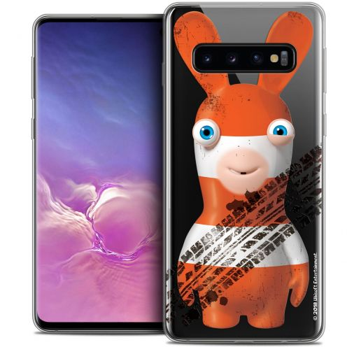 """Crystal Gel Samsung Galaxy S10 (6.1"""") Case Lapins Crétins™ On the Road"""