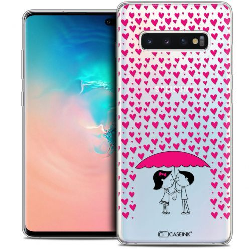 "Extra Slim Crystal Gel Samsung Galaxy S10+ (6.4"") Case Love Pluie d'Amour"