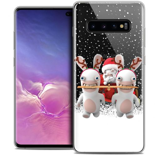 "Crystal Gel Samsung Galaxy S10+ (6.4"") Case Lapins Crétins™ Lapin Traineau"