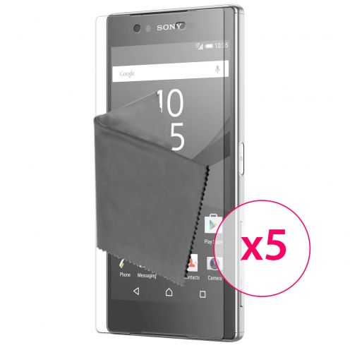 Clubcase ® 3H Ultra Clear HD screen protector for Sony Xperia Z5 5-Pack