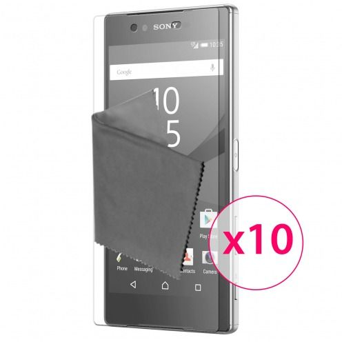 Clubcase ® 3H Ultra Clear HD screen protector for Sony Xperia Z5 10-Pack