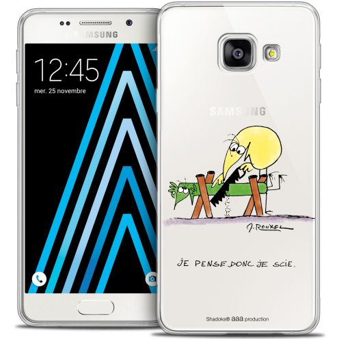 Extra Slim Crystal Galaxy A3 2016 (A310) Case Les Shadoks® Je pense Donc