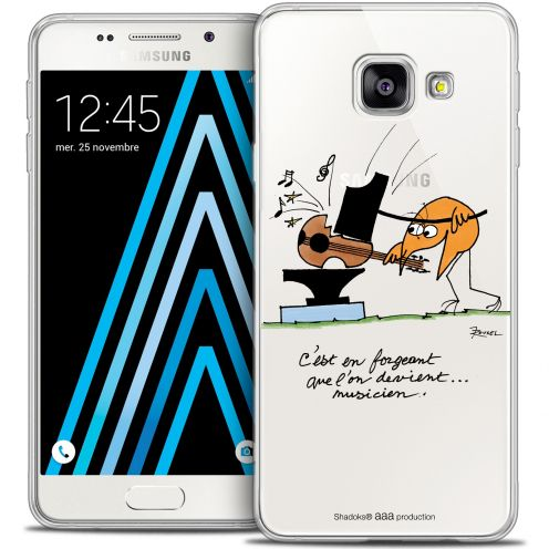Extra Slim Crystal Galaxy A3 2016 (A310) Case Les Shadoks® Musicien