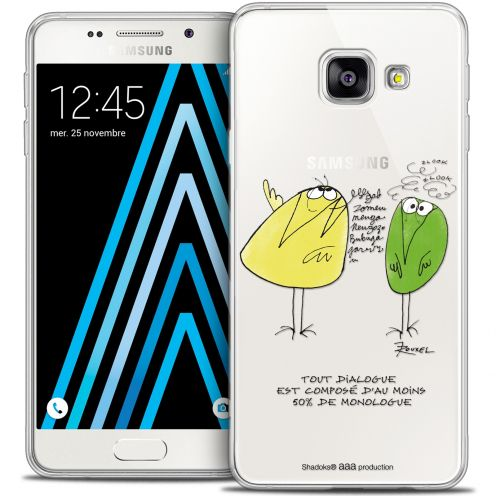 Extra Slim Crystal Galaxy A3 2016 (A310) Case Les Shadoks® Le Dialogue