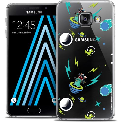 Crystal Galaxy A3 2016 (A310) Case Lapins Crétins™ Space 1