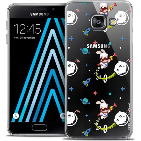 Crystal Galaxy A3 2016 (A310) Case Lapins Crétins™ Space 2