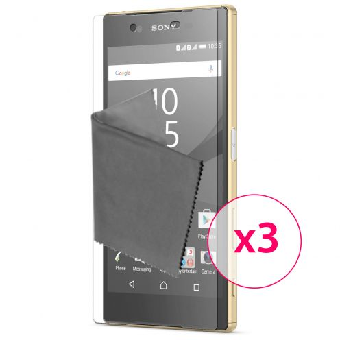 Clubcase ® 3H Ultra Clear HD screen protector for Sony Xperia Z5 Premium 3-Pack