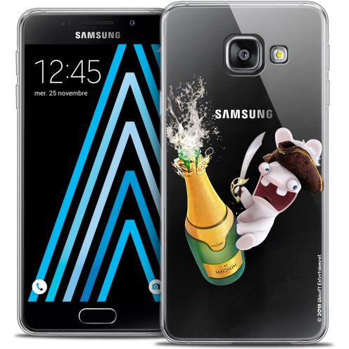 Crystal Galaxy A3 2016 (A310) Case Lapins Crétins™ Champagne !