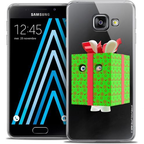 Crystal Galaxy A3 2016 (A310) Case Lapins Crétins™ Lapin Surprise Vert