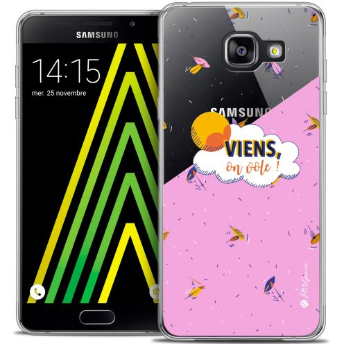 Extra Slim Crystal Galaxy A5 2016 (A510) Case Petits Grains® VIENS, On Vole !