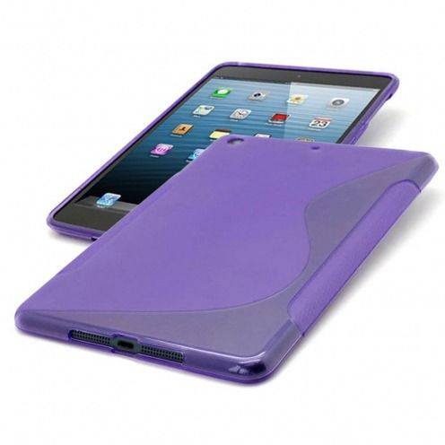Tpu Basics S-Line iPad Mini case purple