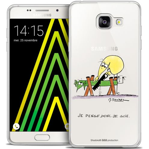 Extra Slim Crystal Galaxy A5 2016 (A510) Case Les Shadoks® Je pense Donc