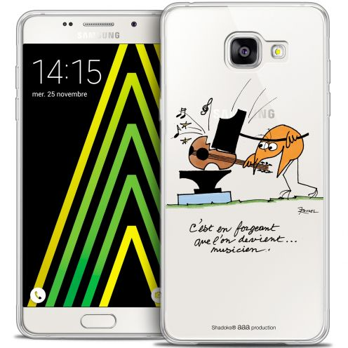 Extra Slim Crystal Galaxy A5 2016 (A510) Case Les Shadoks® Musicien