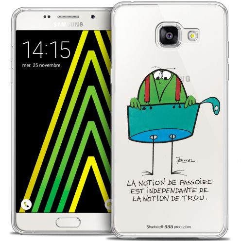 Extra Slim Crystal Galaxy A5 2016 (A510) Case Les Shadoks® La Passoire