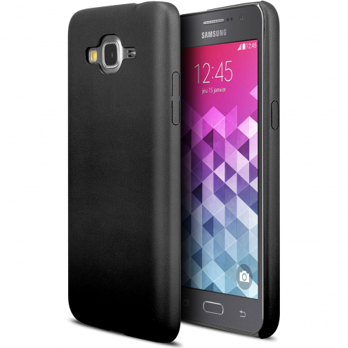 Ultra thin Skin Touch Cover Black case for Galaxy Grand Prime