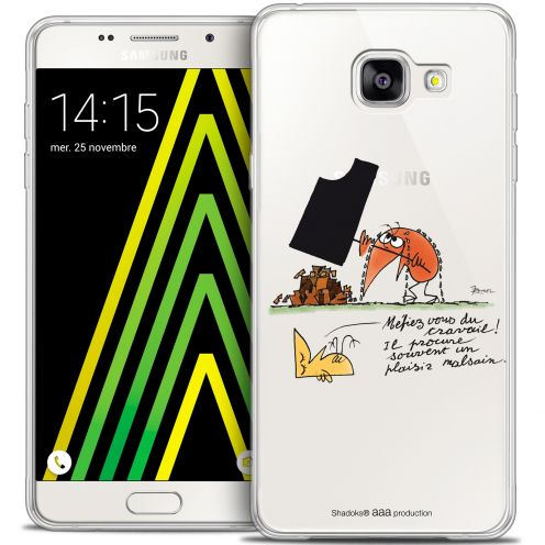 Extra Slim Crystal Galaxy A5 2016 (A510) Case Les Shadoks® Le Travail