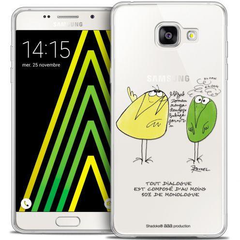 Extra Slim Crystal Galaxy A5 2016 (A510) Case Les Shadoks® Le Dialogue