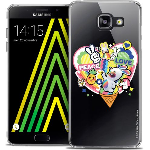 Crystal Galaxy A5 2016 (A510) Case Lapins Crétins™ Peace And Love