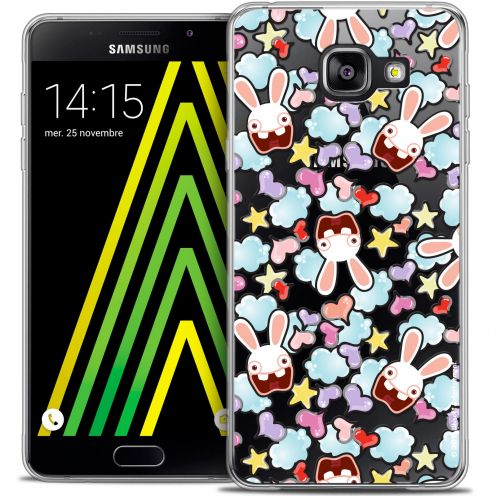Crystal Galaxy A5 2016 (A510) Case Lapins Crétins™ Love Pattern
