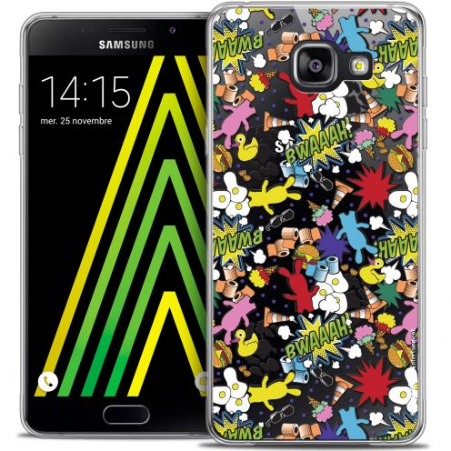 Crystal Galaxy A5 2016 (A510) Case Lapins Crétins™ Bwaaah Pattern