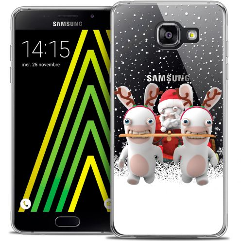 Crystal Galaxy A5 2016 (A510) Case Lapins Crétins™ Lapin Traineau
