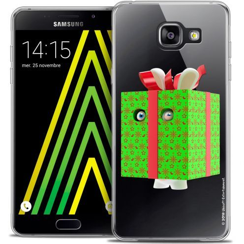 Crystal Galaxy A5 2016 (A510) Case Lapins Crétins™ Lapin Surprise Vert