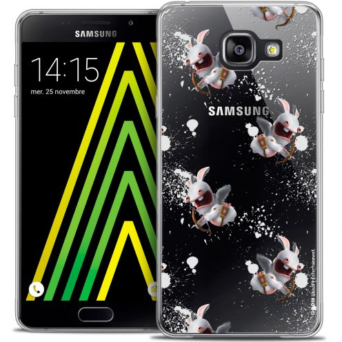 Crystal Galaxy A5 2016 (A510) Case Lapins Crétins™ Cupidon Pattern