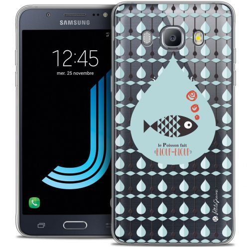 Extra Slim Crystal Galaxy J7 2016 (J710) Case Petits Grains® Le Poisson