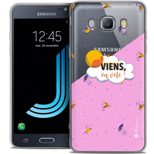 Extra Slim Crystal Galaxy J7 2016 (J710) Case Petits Grains® VIENS, On Vole !