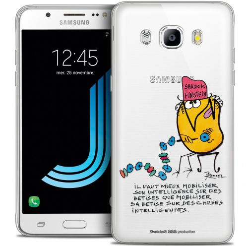 Extra Slim Crystal Galaxy J7 2016 (J710) Case Les Shadoks® Einstein