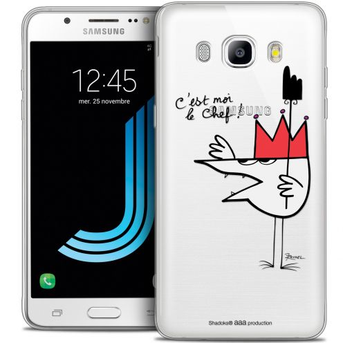 Extra Slim Crystal Galaxy J7 2016 (J710) Case Les Shadoks® Le Chef