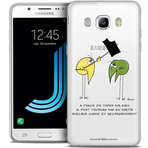 Extra Slim Crystal Galaxy J7 2016 (J710) Case Les Shadoks® A Force