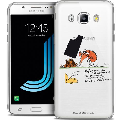 Extra Slim Crystal Galaxy J7 2016 (J710) Case Les Shadoks® Le Travail